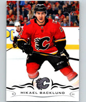 2018-19 Upper Deck #29 Mikael Backlund Mint Calgary Flames