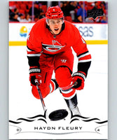 2018-19 Upper Deck #34 Haydn Fleury Mint Carolina Hurricanes