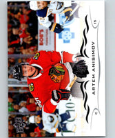2018-19 Upper Deck #43 Artem Anisimov Mint Chicago Blackhawks