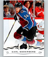 2018-19 Upper Deck #48 Carl Soderberg Mint Colorado Avalanche