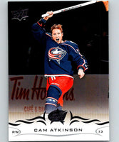2018-19 Upper Deck #54 Cam Atkinson Mint Columbus Blue Jackets