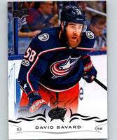 2018-19 Upper Deck #55 David Savard Mint Columbus Blue Jackets