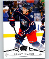 2018-19 Upper Deck #56 Sonny Milano Mint Columbus Blue Jackets