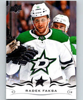 2018-19 Upper Deck #61 Radek Faksa Mint Dallas Stars