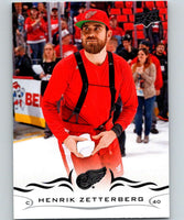 2018-19 Upper Deck #64 Henrik Zetterberg Mint Detroit Red Wings