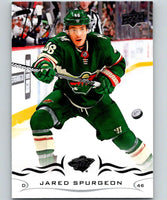 2018-19 Upper Deck #94 Jared Spurgeon Mint Minnesota Wild