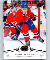 2018-19 Upper Deck #96 Karl Alzner Mint Montreal Canadiens