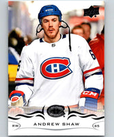 2018-19 Upper Deck #97 Andrew Shaw Mint Montreal Canadiens