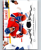 2018-19 Upper Deck #98 Jonathan Drouin Mint Montreal Canadiens