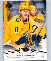 2018-19 Upper Deck #101 Kyle Turris Mint Nashville Predators