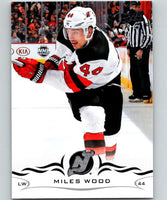 2018-19 Upper Deck #111 Miles Wood Mint New Jersey Devils