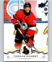 2018-19 Upper Deck #126 Thomas Chabot Mint Ottawa Senators