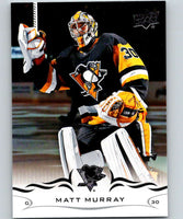 2018-19 Upper Deck #145 Matt Murray Mint Pittsburgh Penguins