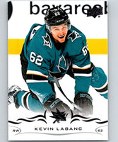 2018-19 Upper Deck #146 Kevin Labanc Mint San Jose Sharks
