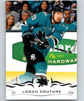 2018-19 Upper Deck #147 Logan Couture Mint San Jose Sharks