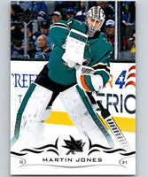 2018-19 Upper Deck #151 Martin Jones Mint San Jose Sharks