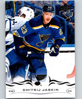 2018-19 Upper Deck #158 Dmitrij Jaskin Mint St. Louis Blues