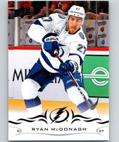 2018-19 Upper Deck #161 Ryan McDonagh Mint Tampa Bay Lightning