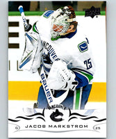 2018-19 Upper Deck #172 Jacob Markstrom Mint Vancouver Canucks