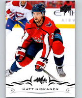 2018-19 Upper Deck #186 Matt Niskanen Mint Washington Capitals