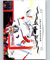 2018-19 Upper Deck #187 Braden Holtby Mint Washington Capitals