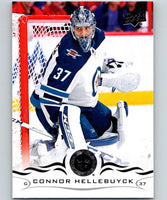 2018-19 Upper Deck #193 Connor Hellebuyck Mint Winnipeg Jets