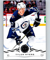 2018-19 Upper Deck #196 Tyler Myers Mint Winnipeg Jets