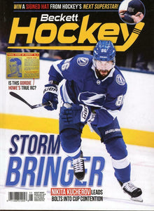 May 2019 Beckett Hockey Monthly Magazine - Kucherov Lightning Cover