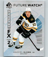 2017-18 SP Authentic Spectrum FX Anders Bjork Rookie MINT Boston Bruins 05276