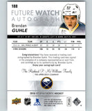 2016-17 Upper Deck SP Authentic Brendan Guhle Future Watch Auto 357/999 RC 05289