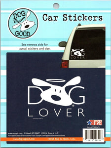 "Dog Lover Stickers Perfect Cut Decal/Sticker 6"" x 8"" Sheet"