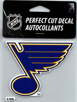 (HCW) St.Louis Blues Logo Perfect Cut Color 4