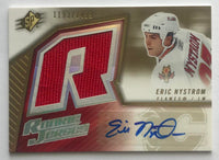 2005-06 SPx #188 Eric Nystrom MINT RC Rookie Auto 1193/1499 Jersey 07606