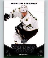 2010-11 Upper Deck #218 Philip Larsen Young Guns YG RC Rookie Y861