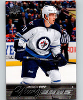 2015-16 Upper Deck #205 Andrew Copp Young Guns YG RC Rookie Y861
