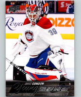 2015-16 Upper Deck #239 Mike Condon Young Guns YG RC Rookie Y861