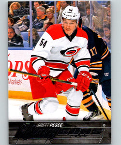 2015-16 Upper Deck #487 Brett Pesce Young Guns YG RC Rookie Y861