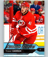2016-17 Upper Deck #230 Trevor Carrick Young Guns MINT RC Rookie Y861