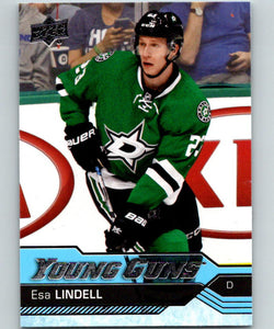 2016-17 Upper Deck #237 Esa Lindell Young Guns MINT RC Rookie Y861