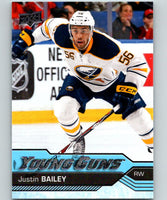 2016-17 Upper Deck #246 Justin Bailey Young Guns MINT RC Rookie Y861