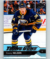 2016-17 Upper Deck #462 Casey Nelson Young Guns MINT RC Rookie Y861
