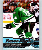 2016-17 Upper Deck #497 Jason Dickinson Young Guns MINT RC Rookie Y861