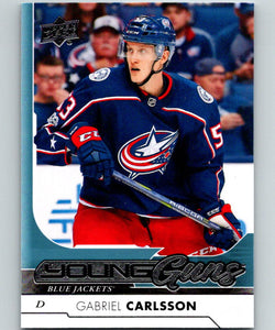 2017-18 Upper Deck #215 Gabriel Carlsson Young Guns MINT RC Rookie Y861