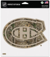 Montreal Canadiens Camo Perfect Cut 8