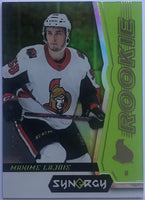 2018-19 Upper Deck Synergy Green #50 Maxime Lajoie 118/299 Senators 07614