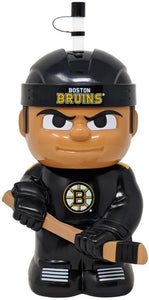 "Boston Bruins 10""x5"" NHL Character Big Sip 3D Water Bottle 16oz"