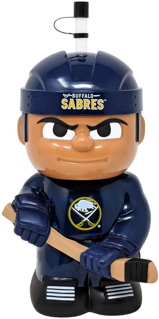 "Buffalo Sabres 10""x5"" NHL Character Big Sip 3D Water Bottle 16oz"