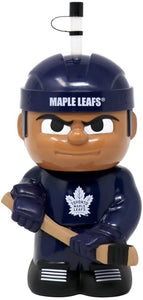 "Toronto Maple Leafs 10""x5"" NHL Character Big Sip 3D Water Bottle 16oz"