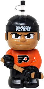 "Philadelphia Flyers 10""x5"" NHL Character Big Sip 3D Water Bottle 16oz"