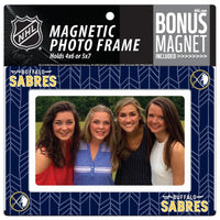 Buffalo Sabres 4x6 or 5x7 Magnetic Picture Frame with Bonus Magnet